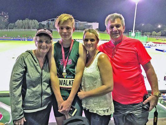 Sam Walker National Gold Medal in Athletics – 2017