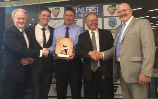 New Town Cricket Club 2016-17 LTT Spirit of Cricket Award Winners
