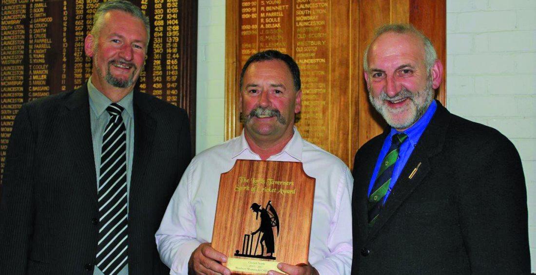 Westbury Cricket Club 2016-17 LTT Spirit of Cricket Award Winners