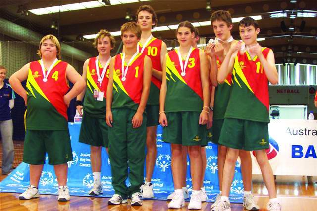 Special Olympics Team Tasmania